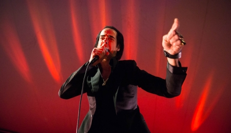 Nick Cave at the NPR showcase at Stubbs on March 14, 2013.